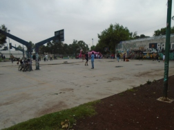 Recuperación del deportivo Chimalhuacán